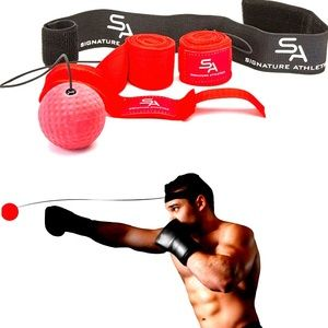 Pro Boxing Reflex Ball with Headband